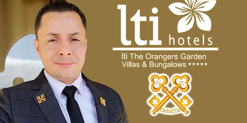 Le Chef concierge de l'hôtel LTI les Orangers devient Clefs d'Or
