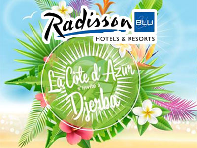 Le Radisson Blu Djerba Beach Party, the place to Be du 3 au 5 août