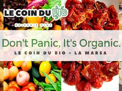 Le Coin Du Bio, la nouvelle épicerie fine dédiée au produits Bio, sans gluten et diététiques