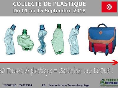 La 6ème action spéciale rentrée scolaire de Tunisie Recyclage