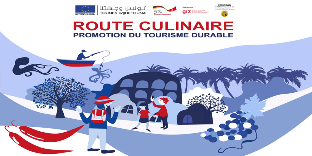 La route culinaire : Une expérience touristique tunisienne  qui se veut pleine de saveurs !
