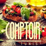 En photos : nouveau restaurant et bar à tapas 'Le Comptoir de Tunis'
