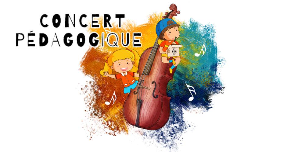 Concert pédagogique interactif destiné aux enfants entre 6 et 15 ans