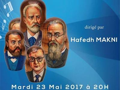 Concert Musique Russe le 23 Mai au Théâtre municipal de Tunis