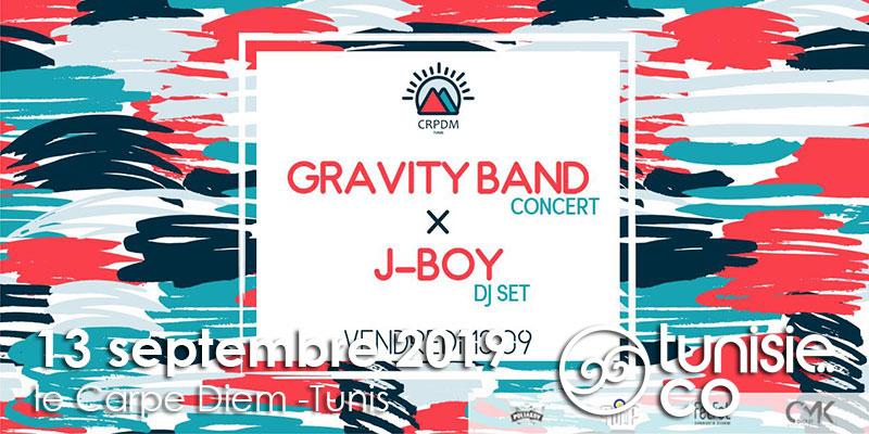 Concert Gravity Band x J-Boy Dj set