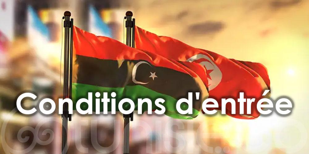 Réouverture des frontières tuniso-libyennes : Voici les conditions d'entrée