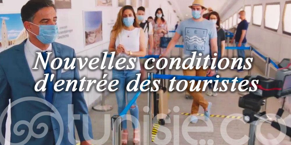 Nouvelles conditions d'entrée des touristes dans le cadre des voyages organisés