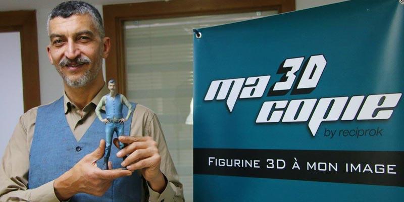 En vidéo : Au lieu de faire un Selfie, transformez-vous en figurine 3D