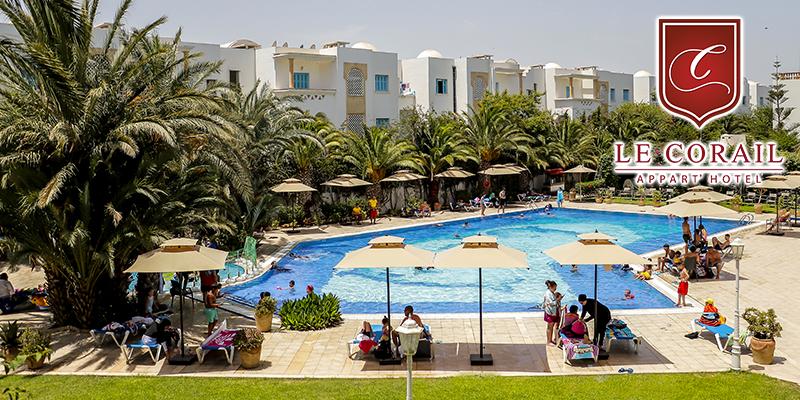 Le Corail Appart Hotel, un concept familial idéal à Yasmine Hammamet