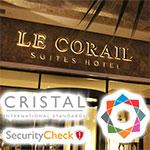 En vidéo : Le Corail Suites Hotel, premier hôtel en Tunisie sécurisé par Cristal International Standards