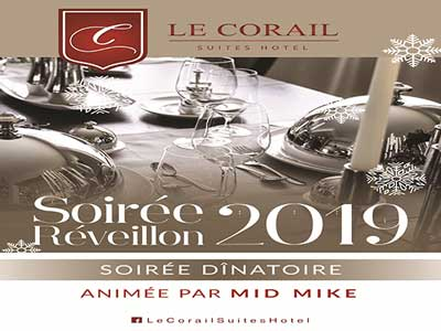 La soirée du Nouvel An 2019 au Corail Suites Hotel au Lac 2