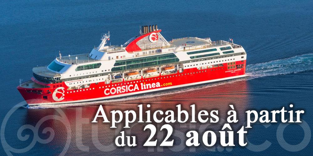Voici les mesures sanitaires que fait appliquer Corsica Linea Tunisie