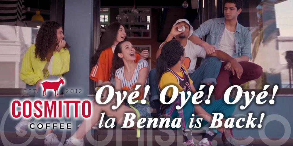 En vidéo : Cosmitto de retour et la Benna is Back