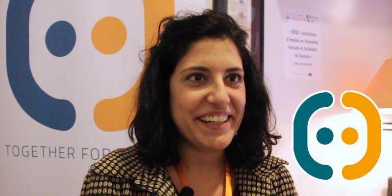En vidéo : Alessia Tibollo, parle du projet IESS! pour promouvoir l'économie sociale et solidaire en Tunisie