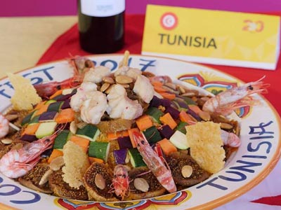 En vidéo : La Tunisie championne du monde de Couscous selon l'appréciation du public