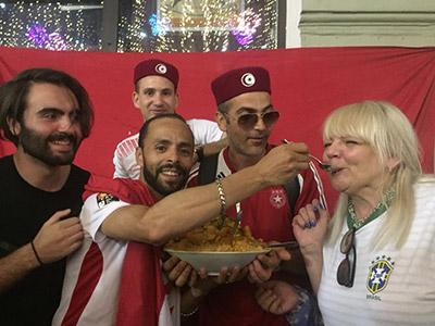 En vidéo : Le Couscous Tunisien au Osben fait sensation à Moscou