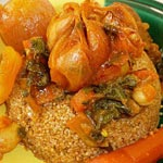 Recette : Couscous Helba Bi-céréales et bio, originaire de Gafsa et du Djérid