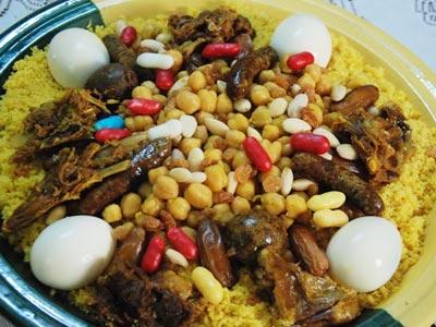 Le couscous au kadid de Rass el Aam, le met traditionnel pour boucler l'année