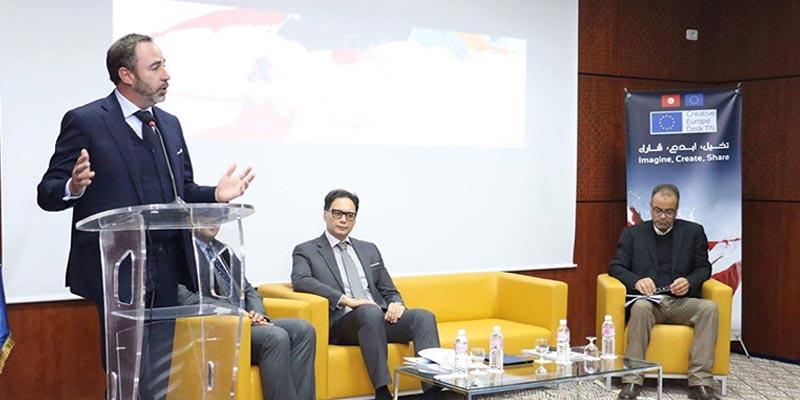 La Tunisie, premier pays de la rive sud de la méditerranée à lancer le Creative Europe Desk