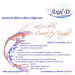 Dîner autour de la Crevette Royale au restaurant Axel D le 12 novembre