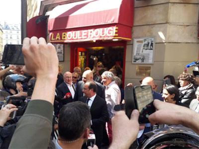 Quel est le restaurant tunisien où Hollande s'est offert un bon Couscous aujourd'hui ?