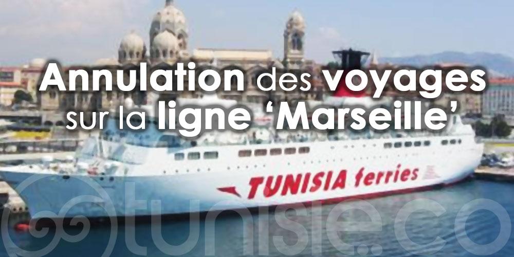CTN: Annulation des voyages sur la ligne 'Marseille'