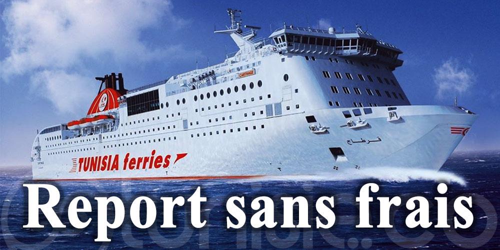 CTN: Report sans frais des traversées programmées du 13 au 16 août