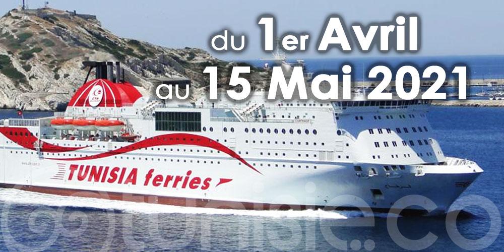 CTN: Modification sans frais des réservations sur ses traversées jusqu'au 31 Mai