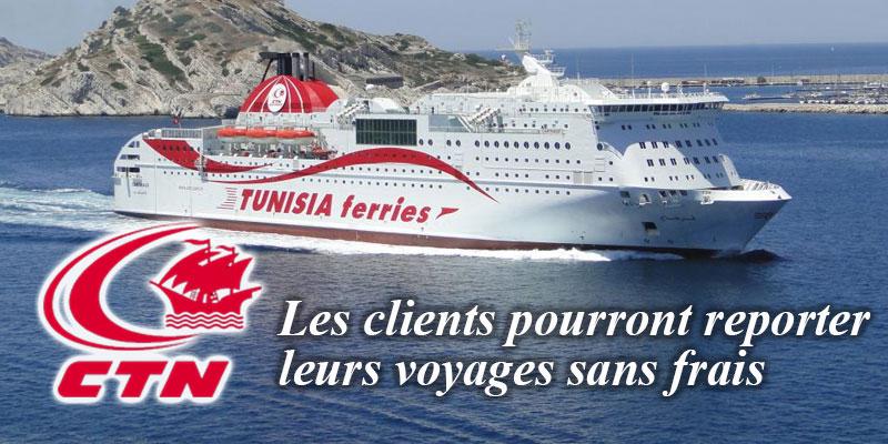 الشركة التونسية للملاحة تمدّد في صلوحية تذاكر السفر المقتناة منذ 12 مارس 2020