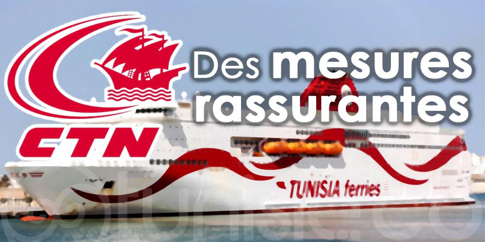 Compagnie Tunisienne de Navigation- CTN : Des mesures rassurantes