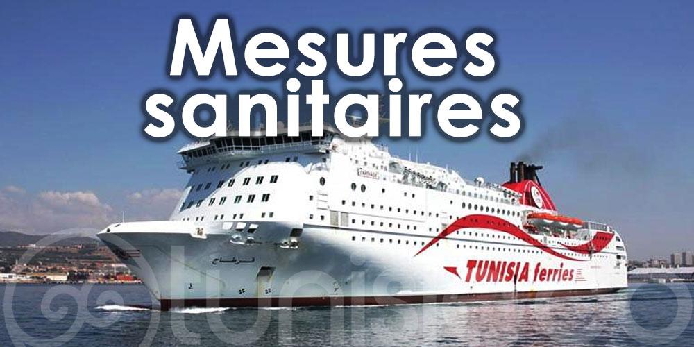 Les mesures sanitaires liées au COVID-19 à bord des car-ferries de la CTN