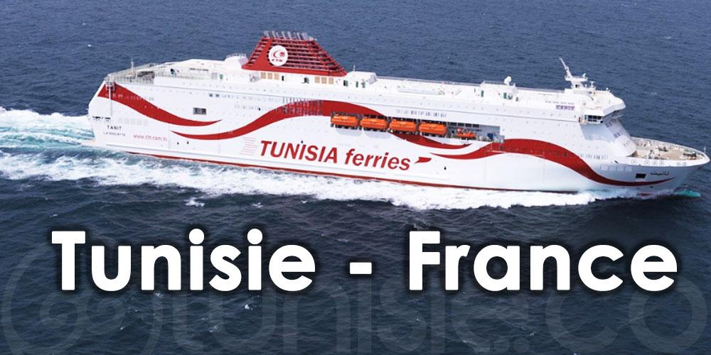 CTN : Nouvelles mesures pour toutes les traversées Tunisie - France