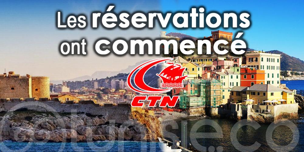 CTN : Début des réservations sur les lignes de Marseille et de Gênes vers Zarzis