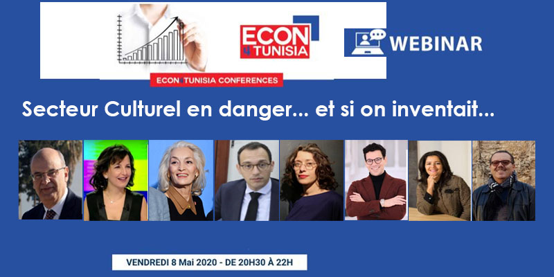 Webinar : Secteur Culturel en danger... et si on inventait...