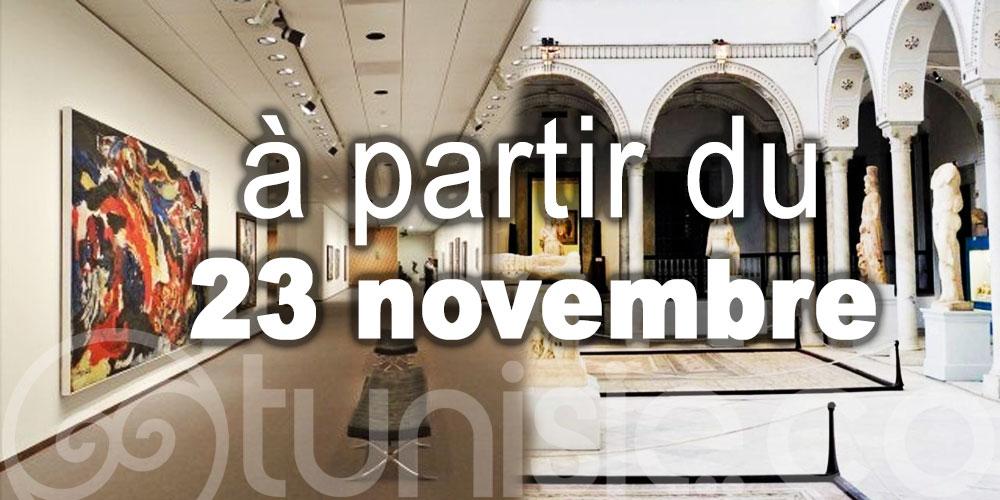 Ces activités culturelles pourront reprendre à partir du 23 novembre