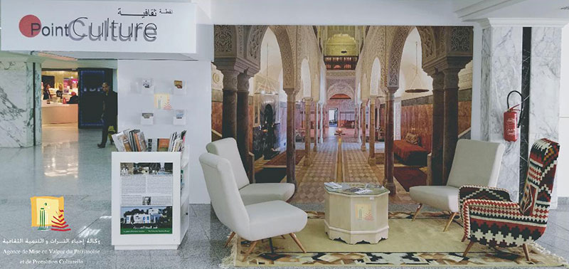 Mise en place d'un Point Culture à l'aéroport de Tunis Carthage