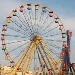 Journée de Aid Al Fitr au parc d'attractions Dah Dah