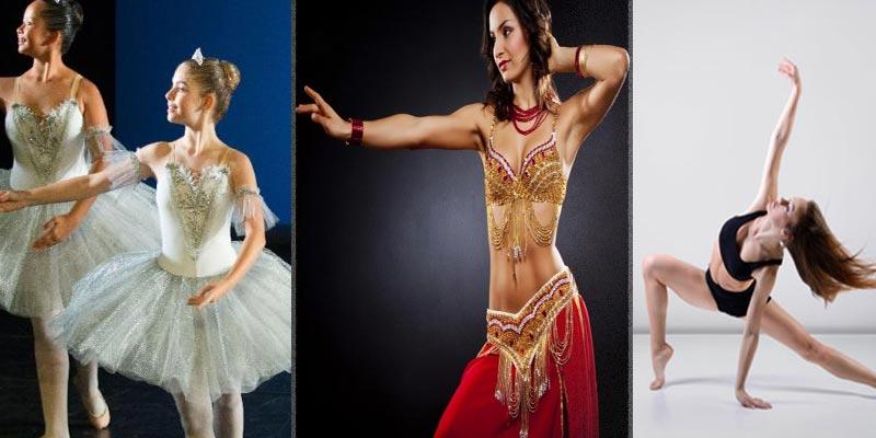 Une variété de disciplines de danse à la Cité de la Culture
