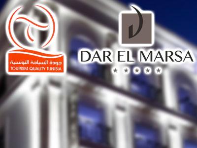 Dar El Marsa devient le premier hôtel tunisien labellisé par le programme d'appui la promotion de la qualité dans le secteur touristique