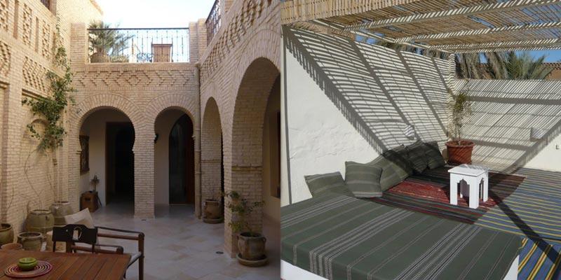 En photos : découvrez Dar El Kobba , une maison d'hôtes située au coeur de Tozeur