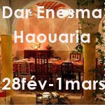 Weekend randonnée à la maison d'hôtes Dar Enesma à El Haouaria les 28 février et 1er mars 2015