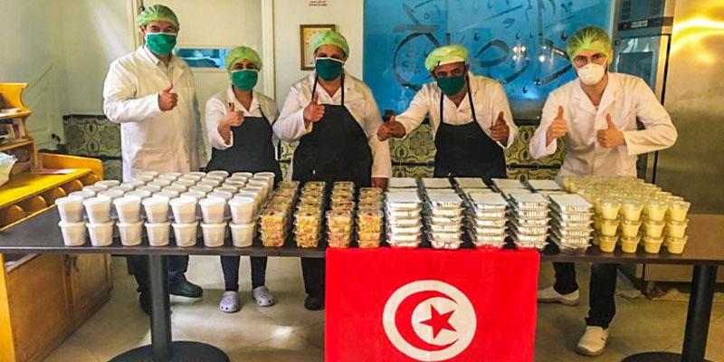 Dar Slah: 90 repas complets par jour aux domiciles des familles nécessiteuses et des plus démunis