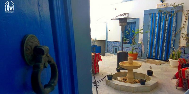 Dar Baaziz la maison d'hôtes pensée pour le repos de ses convives à Sousse