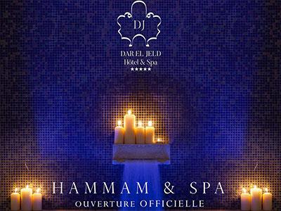 En photos : Le Hammam Spa du Dar El Jeld ouvre ses portes