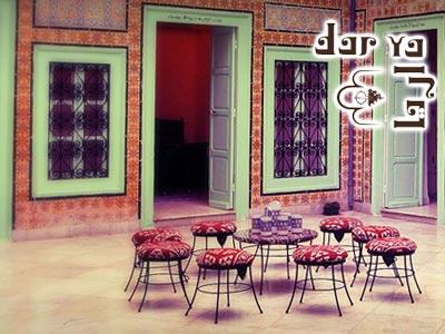 Dar Ya, le charme de l'architecture arabo-andalouse à la médina de Tunis
