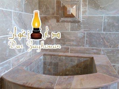 Dar Zaghouan s'enrichit d'un nouveau Hammam, pour des moments de détente et de bien-être
