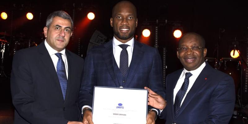 Didier Drogba nommé ambassadeur de l'Organisation mondiale du tourisme