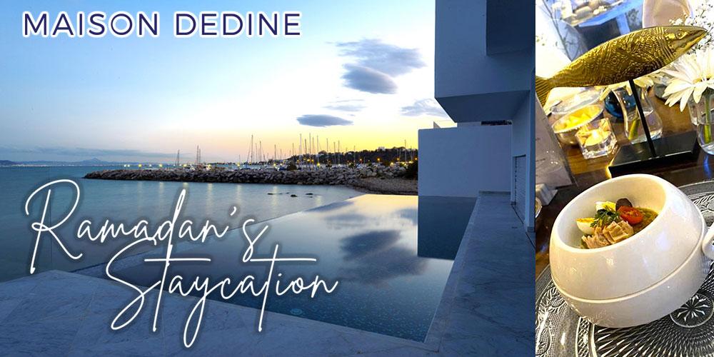 Le plus luxueux des Staycations à la Maison Dedine Sidi Bousaid