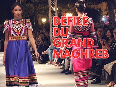 En vidéo : Le Maghreb à travers ses costumes traditionnels revisités à l'Avenue Habib Bourguiba