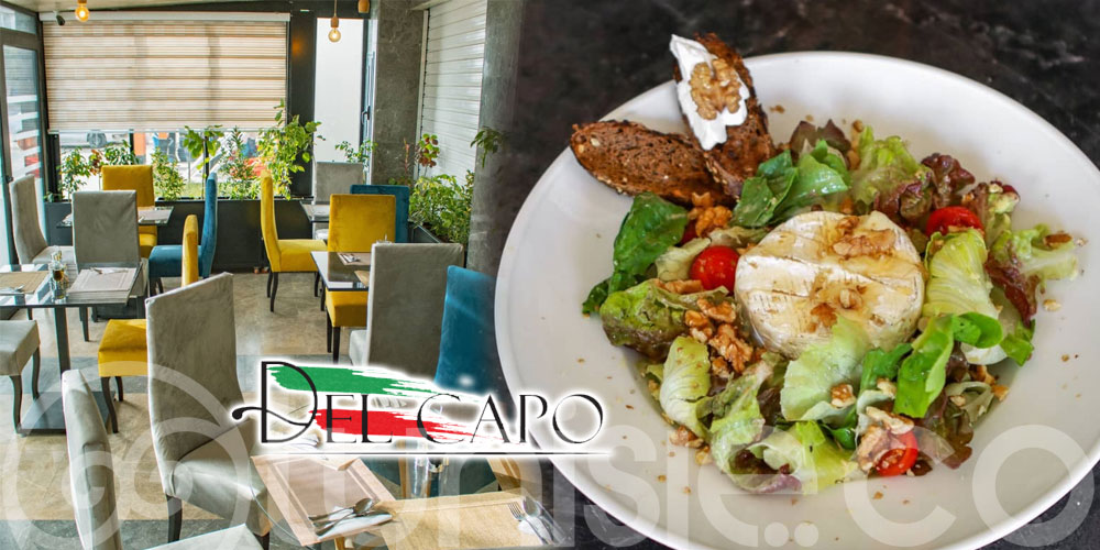 Delcapo Restaurant, le nouveau temple de la gastronomie italienne en Tunisie
